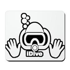 IDIVE SCUBA ORIGINAL Mousepad