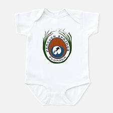 Peacock Springs Scuba Origina Infant Bodysuit