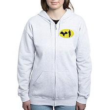 Bat Man Zip Hoodie