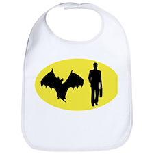 Bat Man Bib