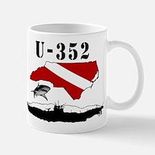 U-352 Wreck Diver Original Sc Mug