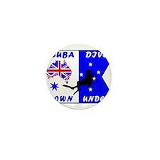 Scuba Dive Australia Down Und Mini Button