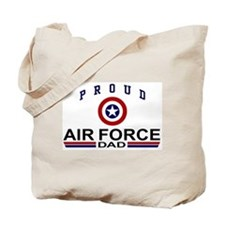 Proud Air Force Dad Tote Bag