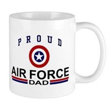 Proud Air Force Dad Mug