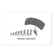 """Skydiving Evolution"" Postcards (Package of 8)"
