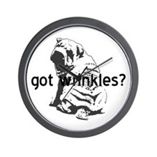 Shar Pei - Got Wrinkles? Wall Clock