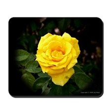 A Yellow Rose of Texas Mousepad