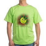 Pot Don't Kill Brain Thingies Green T-Shirt