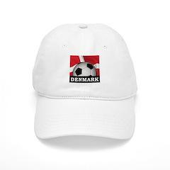 Denmark Football Baseball Cap