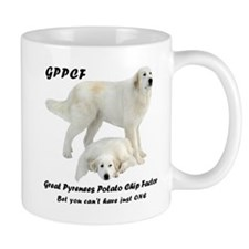 Great Pyrenees Potato Chip Mug