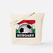 Hungary Football Tote Bag