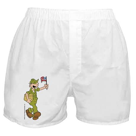 Flag-waving Beetle Boxer Shorts
