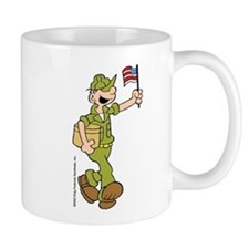 Flag-waving Beetle Mug