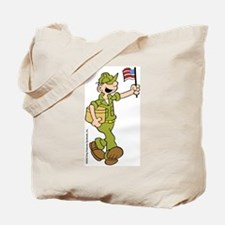 Flag-waving Beetle Tote Bag