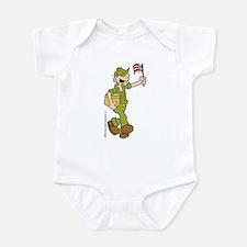 Flag-waving Beetle Infant Bodysuit