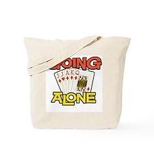 Euchre Going Alone Tote Bag