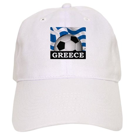 Greece Football Cap