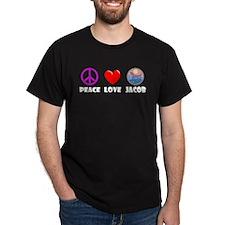 Peace Love Jacob T-Shirt