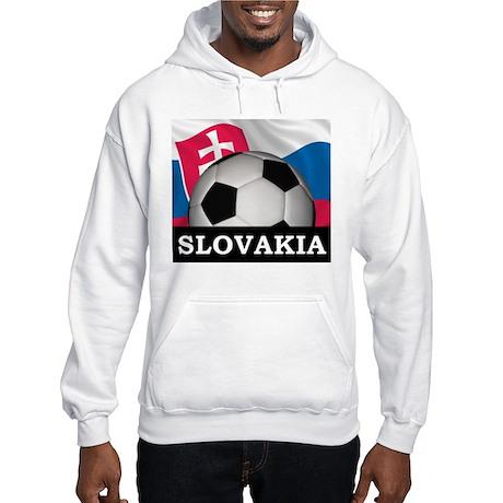 Slovakia Football Hooded Sweatshirt
