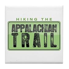 Hiking the Appalachian Trail Tile Coaster