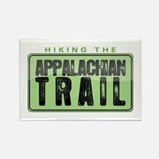 Hiking the Appalachian Trail Rectangle Magnet