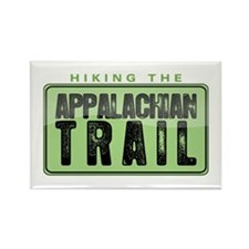 Hiking the Appalachian Trail Rectangle Magnet (10
