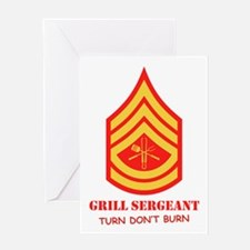 Grill Sgt. Greeting Card