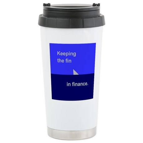 Finance 1 Stainless Steel Travel Mug