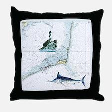 Hatteras Chart Throw Pillow