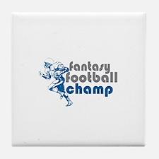 Fantasy Football Champ Tile Coaster