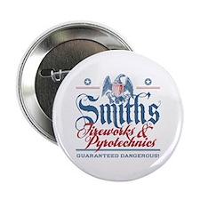 "Smith's Fake Fireworks Company 2.25"" Button"