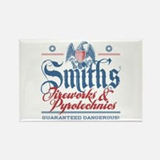 Smith's Fake Fireworks Company Rectangle Magnet