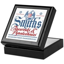 Smith's Fake Fireworks Company Keepsake Box