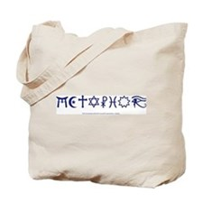 Religion is a METAPHOR tote bag