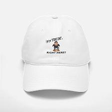 I got yer STRIKE ZONE... Baseball Baseball Cap