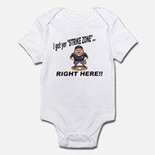 I got yer STRIKE ZONE... Infant Bodysuit