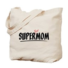 Super 'Tired' Mom Wave Tote Bag