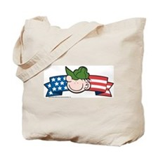 Star-Spangled Beetle Banner Tote Bag