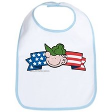 Star-Spangled Beetle Banner Bib