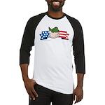 Star-Spangled Beetle Banner Baseball Jersey
