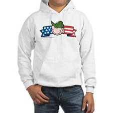 Star-Spangled Beetle Banner Hooded Sweatshirt