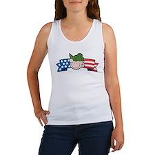 Star-Spangled Beetle Banner Women's Tank Top
