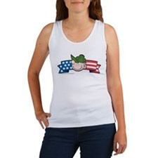Star-Spangled Beetle Banner Women's Tank Top