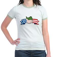 Star-Spangled Beetle Banner Jr. Ringer T-Shirt