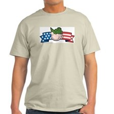 Star-Spangled Beetle Banner Light T-Shirt