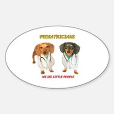 Kid Doctors Oval Decal