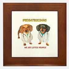 Kid Doctors Framed Tile