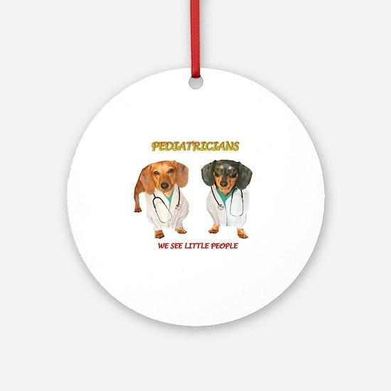 Kid Doctors Ornament (Round)