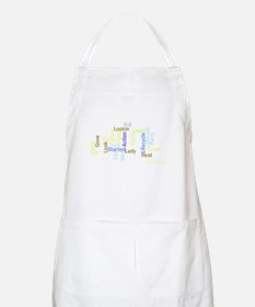 Season 5 Word Cloud BBQ Apron
