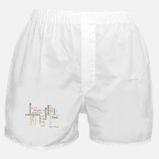 Season 6 Word Cloud Boxer Shorts